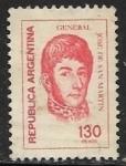 Sellos del Mundo : America : Argentina : José Francisco de San Martín (1778-1850)