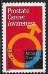 Sellos del Mundo : America : Estados_Unidos : concienciación sobre el cáncer