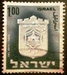 Sellos de Asia - Israel -  Emblemas de ciudades (Tel Aviv-Yafo)