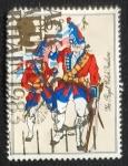 Sellos de Europa - Reino Unido -  Militares