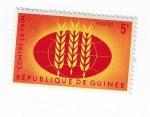 Sellos del Mundo : Africa : Guinea : Contra el hambre