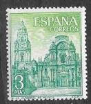 Sellos de Europa - España -  Edif 1936 - Catedral de Murcia