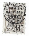 Sellos del Mundo : Europa : Portugal : 800 años de Alfonso I de Portugal