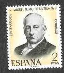 Sellos del Mundo : Europa : España : Edif 1976 - Centenario del Nacimiento de Miguel Primo de Rivera