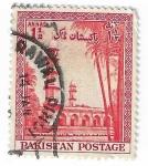 Sellos del Mundo : Asia : Pakistán : Minarete