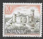 Sellos del Mundo : Europa : España : Edif 1981 - Castillo