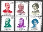 Sellos del Mundo : Europa : España : Edif 1990 a 1995 - Literatos Españoles