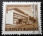 Sellos de Europa - Hungría -  Edificios