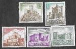 Sellos del Mundo : Europa : España : Edif 2093 a 2097 - Castillos