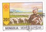 Sellos del Mundo : Asia : Mongolia : GANADO LANAR