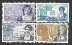 Sellos del Mundo : Europa : España : Edif 1864 a 1867 - Personajes Españolas