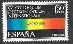 Sellos del Mundo : Europa : España : Edif 1924 - XV Coloquium Spectroscopicum Internacional
