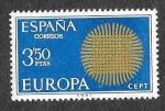Sellos del Mundo : Europa : España : Edif 1973 - EUROPA CEPT