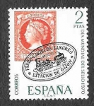 Sellos del Mundo : Europa : España : Edif 1974 - Dia Mundial del Sello