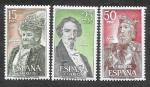 Sellos del Mundo : Europa : España : Edif 2071-2072-2073 - Personajes Españoles