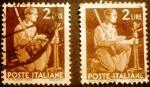 Sellos de Europa - Italia -  Democracia