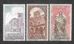Sellos del Mundo : Europa : España : Edif 1894-1895-1896 - Monasterio de Santa María del Parral