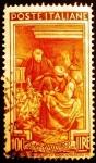 Sellos de Europa - Italia -  Profesiones. Corn Harvest (Friuli Venezia Giulia)