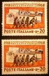 sello : Europa : Italia : Mobilization of tropos. 5º Aniversario 1ª Guerra mundial