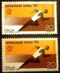 Sellos de Europa - Italia -  World University Games. Universiade Torino