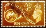 Sellos de Europa - Reino Unido -   Unión Postal Universal