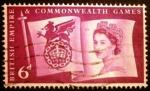 Sellos de Europa - Reino Unido -  Juegos de la Commonweal. Flag and Games Emblem