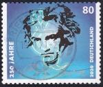 Sellos del Mundo : Europa : Alemania :  250 años Beethoven