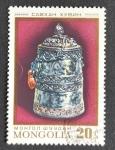 Sellos de Asia - Mongolia -  Artesania
