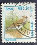 Sellos de America - Brasil -  Pajaros