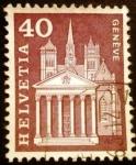 Sellos de Europa - Suiza -  St. Pierre Cathedral, Geneva