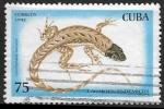 Sellos del Mundo : America : Cuba : Lagartos endemicos