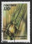 Sellos del Mundo : Africa : Tanzania :  Micrommata rosea