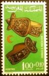 Sellos de Africa - Marruecos -  Anillos. Serie Media Luna Roja