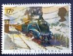 Sellos del Mundo : Europa : Reino_Unido :  Trenes