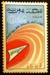 Sellos de Africa - Marruecos -  Juegos mediterráneos de Túnez