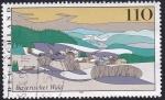 Sellos de Europa - Alemania -  Bosque de Bavaria