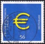 Sellos del Mundo : Europa : Alemania :  introducción EURO