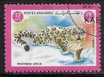 Sellos del Mundo : Asia : Afganistán : Panthera uncia
