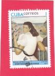 Sellos del Mundo : America : Cuba : PINTORES CUBANOS-retrato de Mary