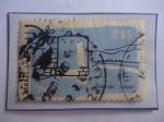 Sellos de Asia - Israel -  Tiberias - Fortificaciones- Sello de 0,60 Lira Israel, año 1960