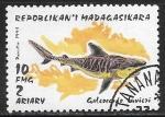 Sellos del Mundo : Africa : Madagascar : Peces - Galeocerdo cuvieri