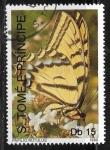 Sellos del Mundo : Africa : Santo_Tomé_y_Principe : Papilio rutulus