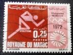 Sellos del Mundo : Africa : Marruecos : Olimpiadas de Múnich. Atletismo