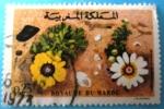 Sellos del Mundo : Africa : Marruecos : Flores. Chrysanthemum carinatum