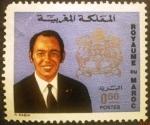Sellos de Africa - Marruecos -  Rey Hassan II