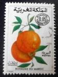 Sellos de Africa - Marruecos -  Frutas. Naranjas