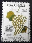 Sellos del Mundo : Africa : Marruecos : Frutas. Uvas