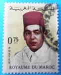 Sellos del Mundo : Africa : Marruecos : Rey Hassan II