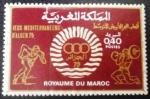 Sellos del Mundo : Africa : Marruecos : Juegos Mediterráneos de Argelia