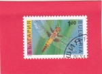 Sellos del Mundo : Europa : Bulgaria : Libellula quadrimaculata